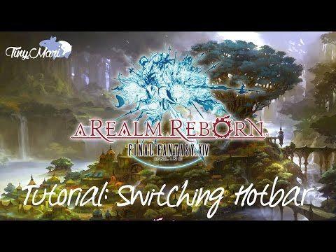 FFXIV Tutorial: Switching Hotbar Guide   Final Fantasy XIV