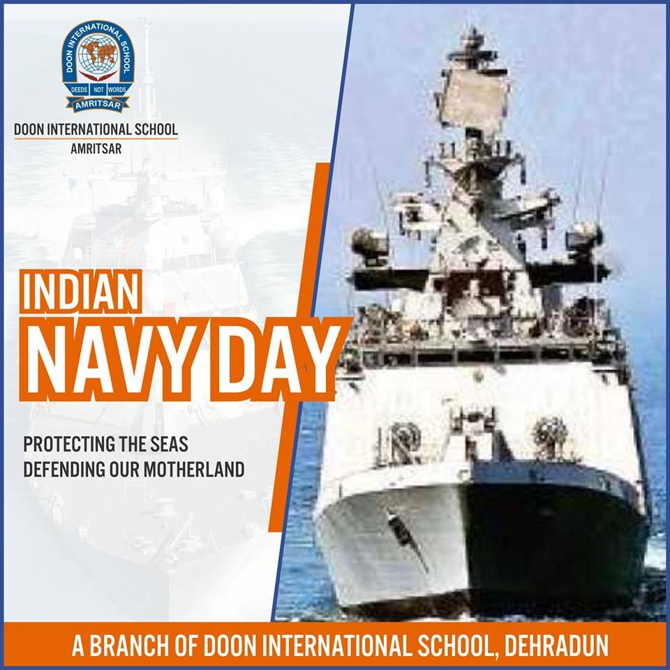 Respects And Best Wishes To The Indian Navy On The Occasion Of Navy Day Their Constant Vigil In Protecting The C Navy Day Indian Navy Day International School