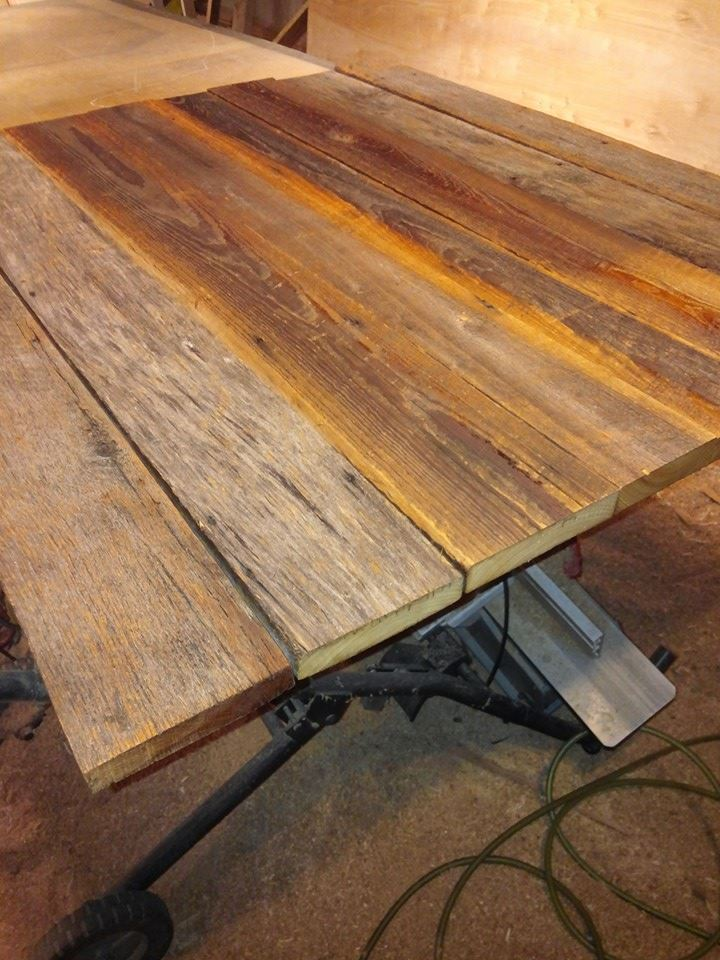Custom Reclaimed Barn Wood Table Top Furniture By Brad Greater Nashville Area Tn Www Furniturebybrad Hand Crafted In Middle Tennessee