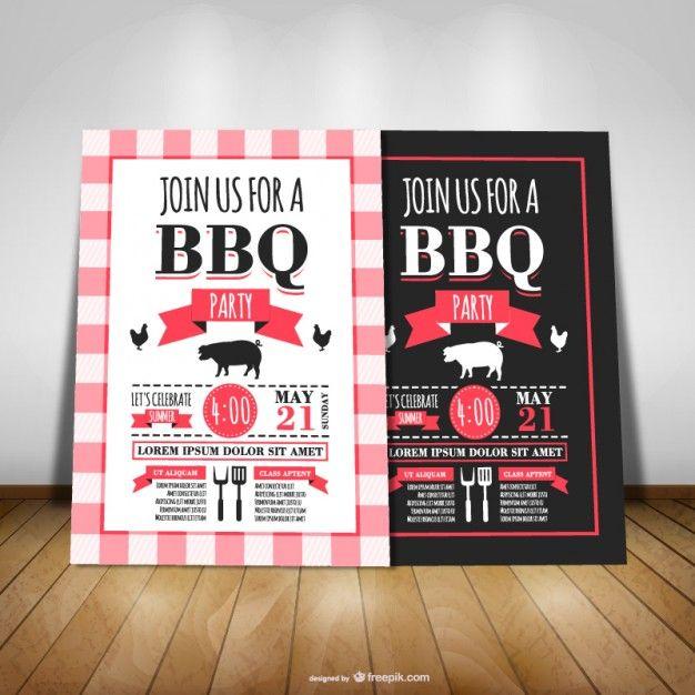 bbq einladung | party | pinterest | einladungen, grillparty und, Einladung