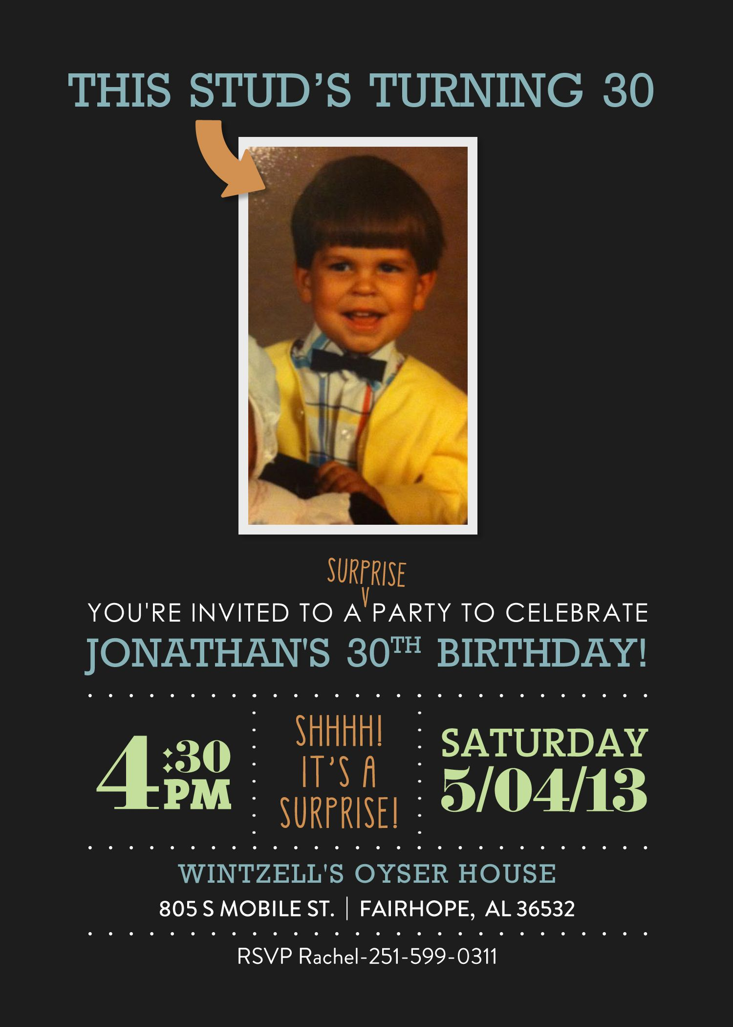 Surprise th birthday surprise invitation etsy OMG Now
