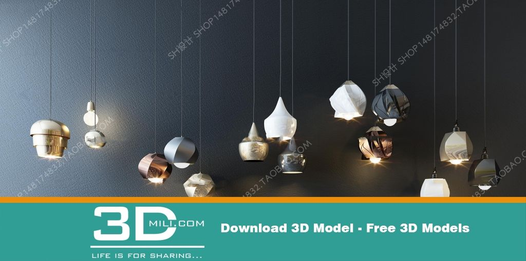 410 Ceiling Light 3dmodel Free Download Ceiling Lights Ceiling Light