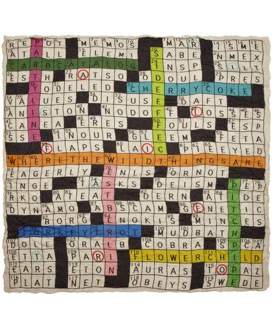 Beige Rebus Crossword Modal Blend Scarf Branding Design