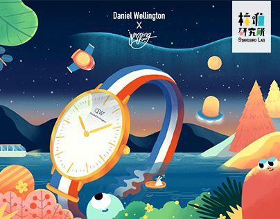 """다음 @Behance 프로젝트 확인: """"Daniel Wellington poster"""" https://www.behance.net/gallery/33535815/Daniel-Wellington-poster"""