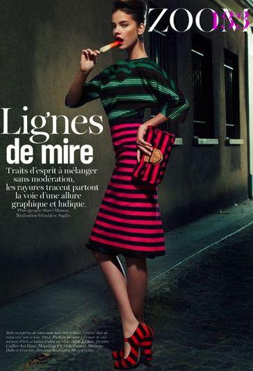 Barbara Palvin | Vogue Paris February 2011