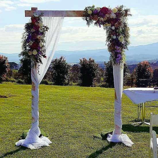wooden wedding arbour the wedding arch by ceremonies i do