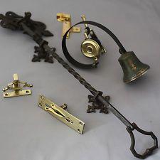 Attirant Victorian Front Door Bell Pull And Bell