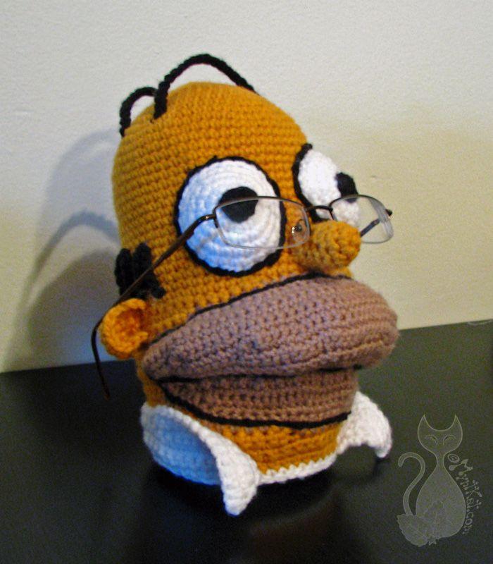 Professor Homer by MyntKat.deviantart.com on @deviantART | Knitted ...