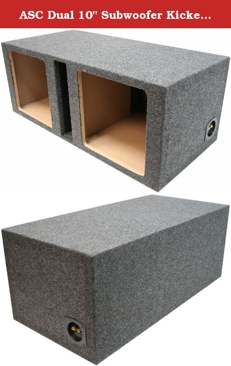 STAGE 3 PORTED SUBWOOFER MDF ENCLOSURE FOR JL AUDIO 10W7AE SUB BOX