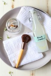 Photo of Homemade Natural Makeup Brush Cleaner Homemade Natural … – …