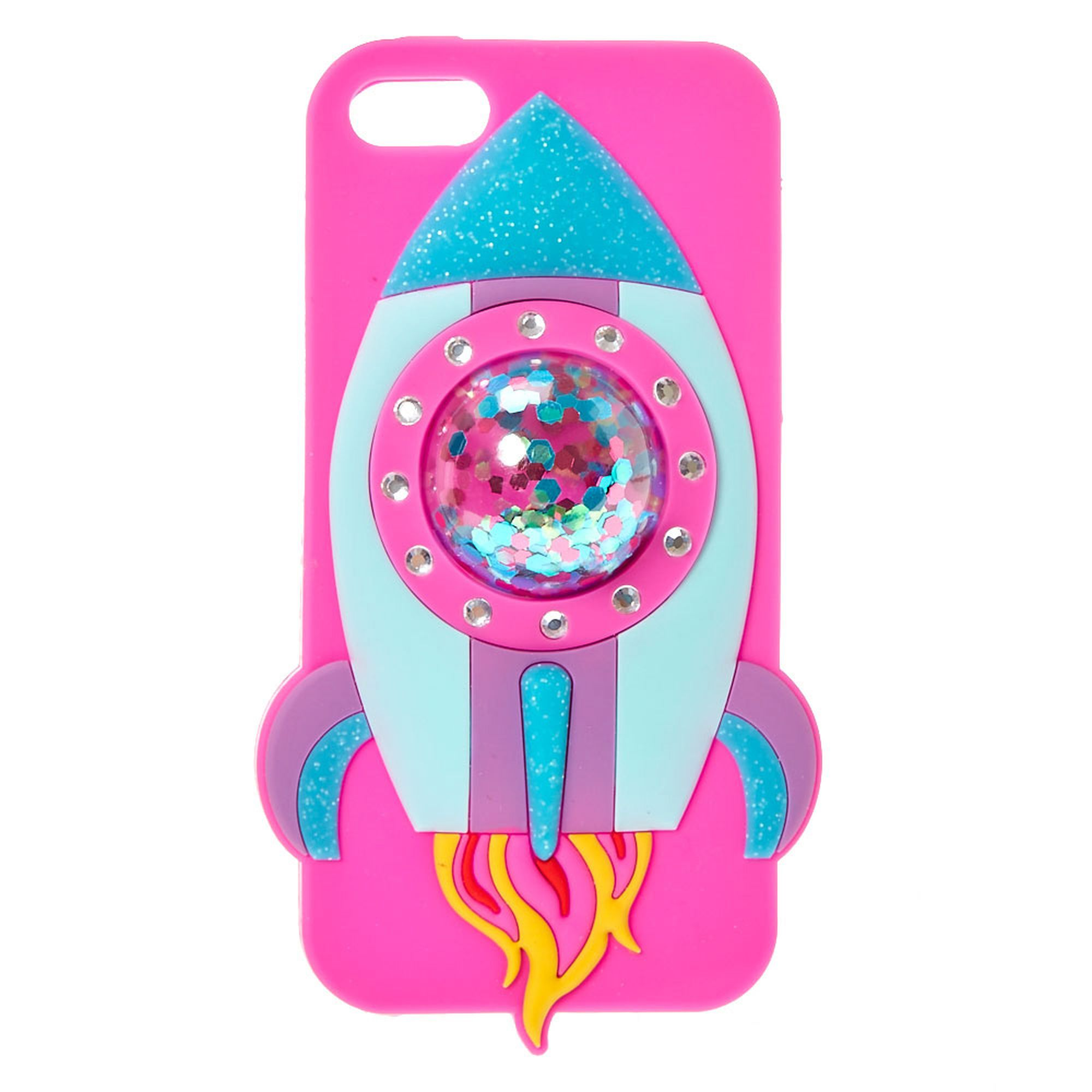 promo code 9aee4 1e6c3 Spaceship Silicone Phone Case | Claire's US | E L E C T R O N I C S ...