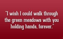Love Quotes For Her Holding Hands