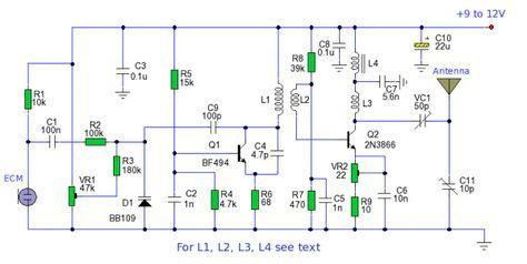 long range fm transmitter radio frequency, circuit diagram, circuit  projects, ham radio,