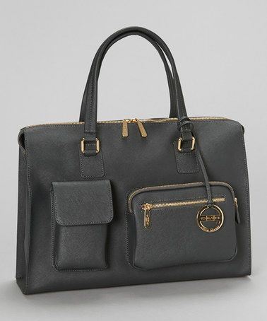 Take a look at this Charcoal Sofia Tote by CMD on #zulily today!