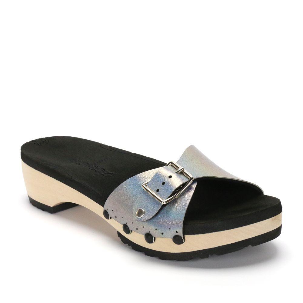 Low Clog Slide Platform Sandal | Vegan | Made in USA