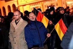 Demonstration der MVGIDA in Schwerin am 09.02.2015. Mit dabei etliche Neonazis http://www.recherche-nord.com/gallery/2015.02.09.html