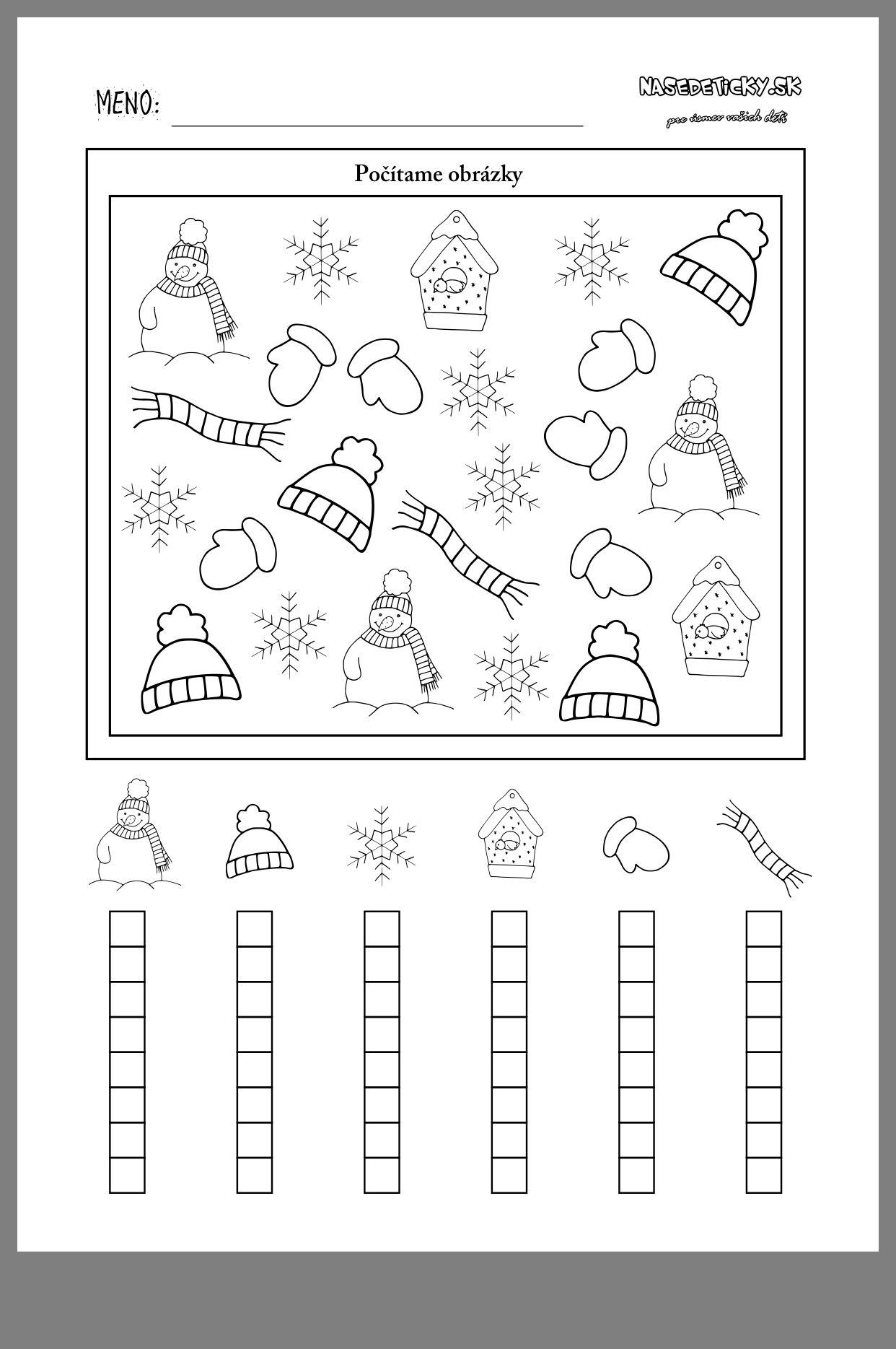 winter template vorschule winter arbeitsbl tter kindergarten winter. Black Bedroom Furniture Sets. Home Design Ideas