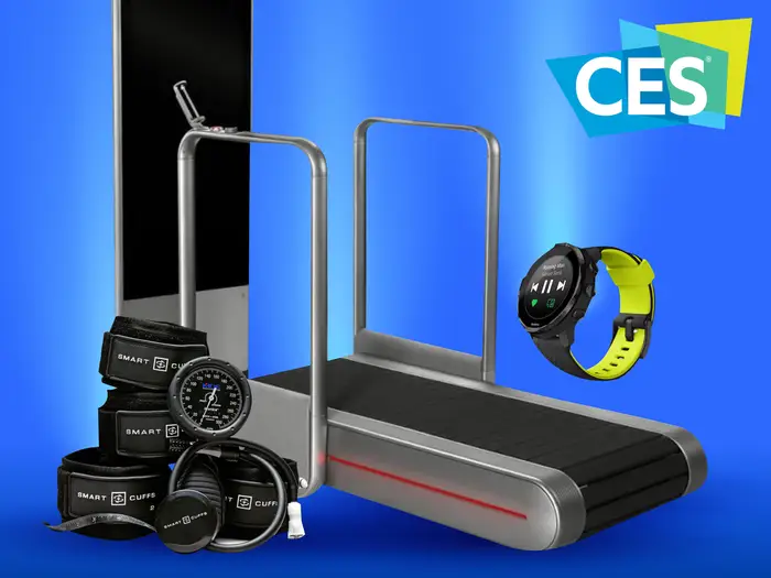 7 Best New Fitness Tech Products We Saw At Ces 2020 In 2020 Fitness Tech Fitness Devices At Home Workouts