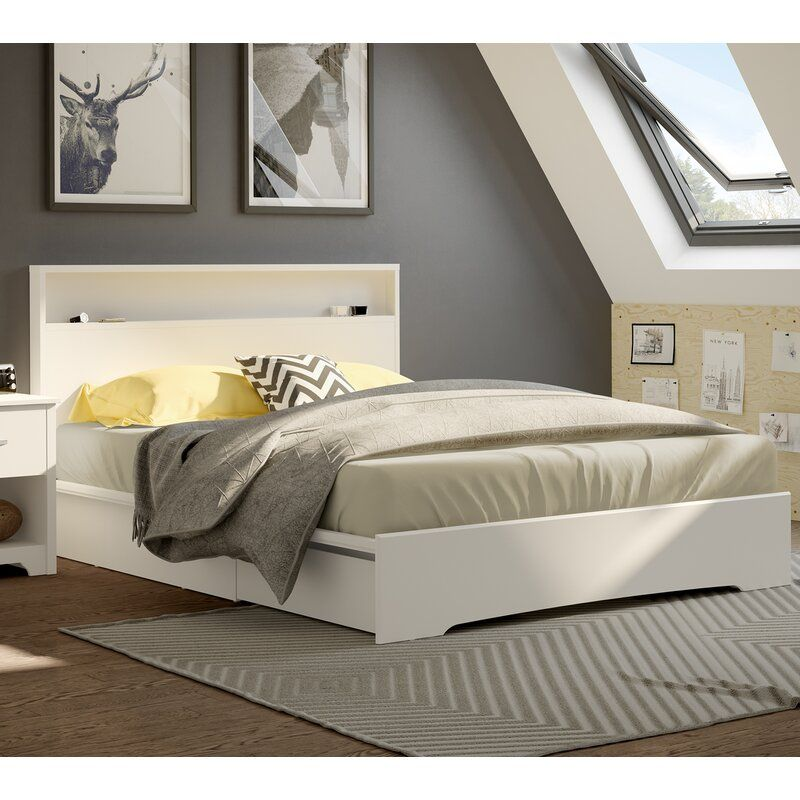 Best Basic Queen Storage Platform Bed Platform Bed Sets 400 x 300