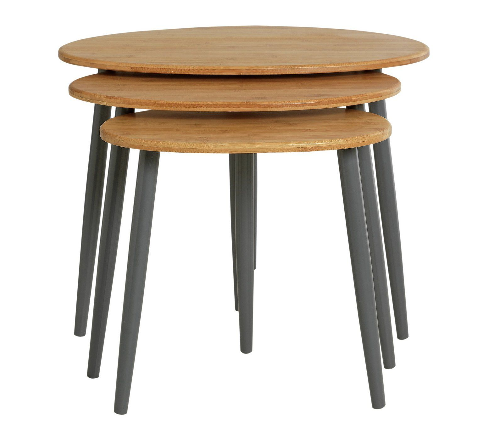 Buy Collection Nest of 3 Tables - Bamboo at Argos.co.uk, visit Argos ...