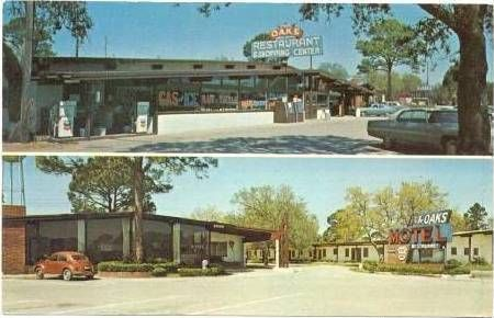 Oaks Restaurant And Motel Panacea Fl Best Seafood Around From 1950 Thru 1970 S