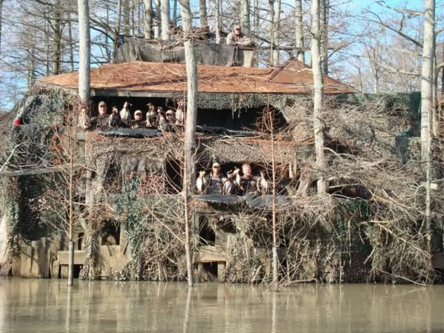 Duck Hunting Blinds Plans How To - 96.9KB