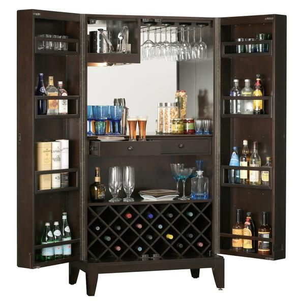 Howard Miller Barolo Wine Bar Cabinet 695 154 Bar Cabinet Cart