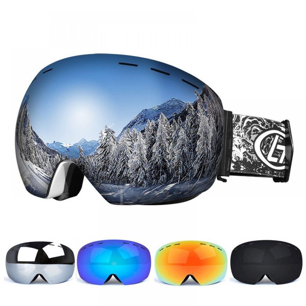 Anti Fog Ski Goggles Ski goggles, Snowboarding men