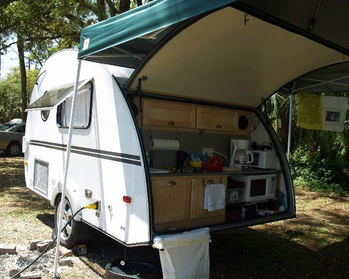 Outdoor Kitchen On Rv  Google Search  Making My Own Rv Extraordinary Travel Trailer With Outdoor Kitchen Design Inspiration