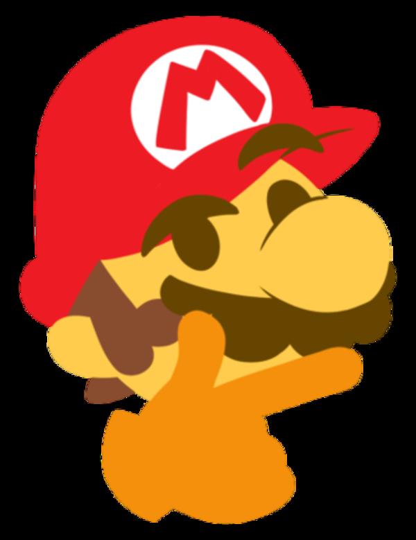 Thinking Mario Thinking Face Emoji In 2021 Mario Emoji Images Emoji