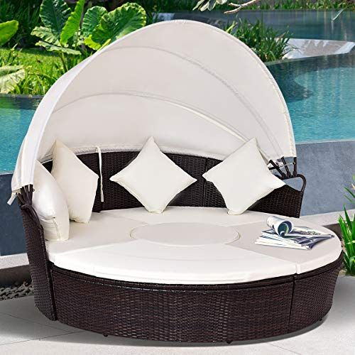 Check This Tangkula Patio Daybed 73