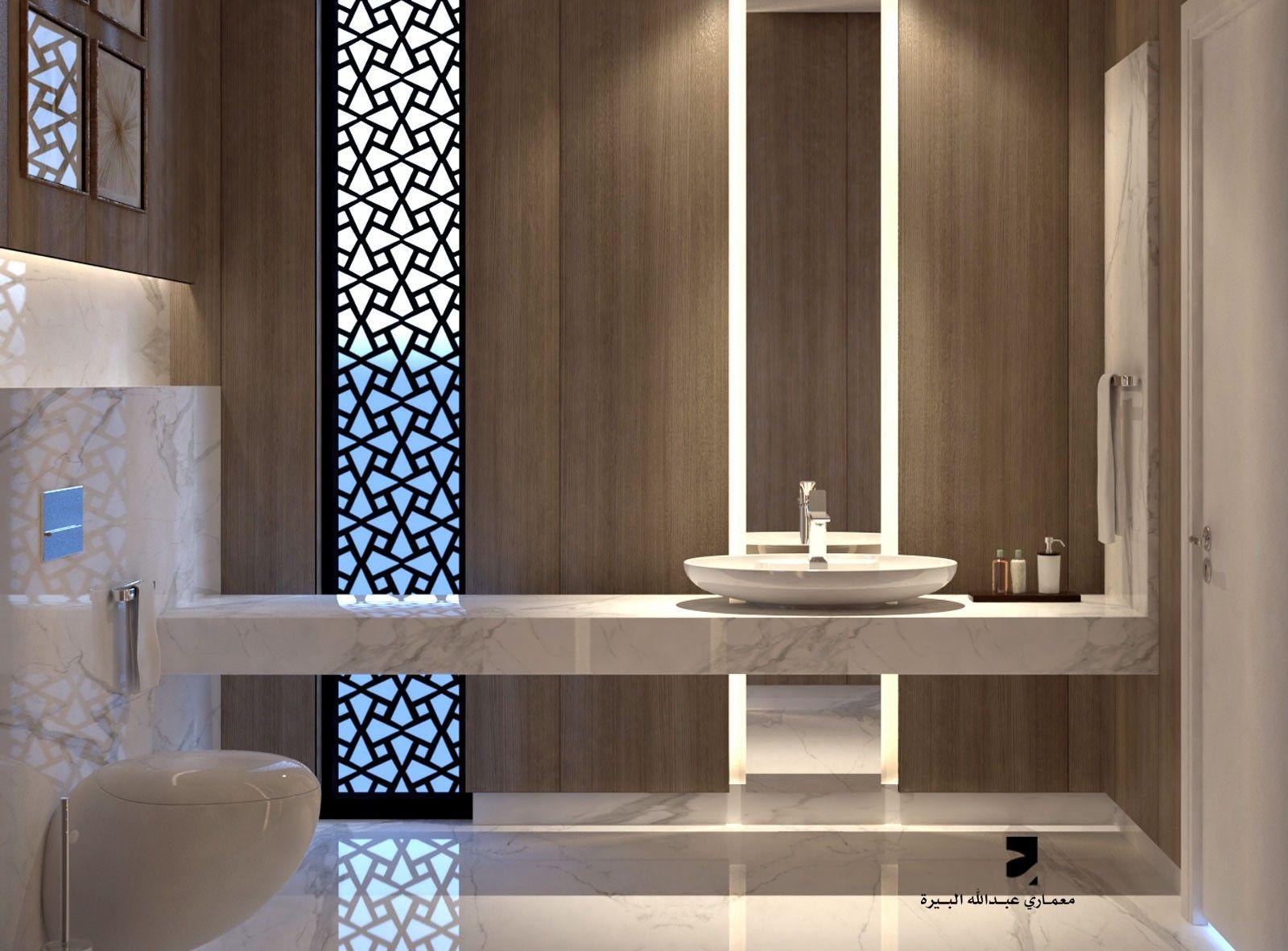 Bad ideen halbbäder guest bathroom by bera architect  badideen  pinterest  bad und