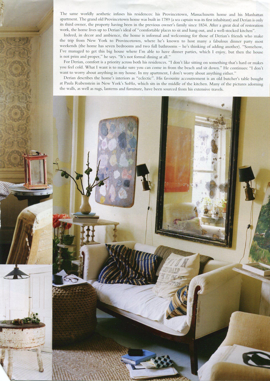 Designer John Derian S Home Vogue Living Sept 2010 Divine