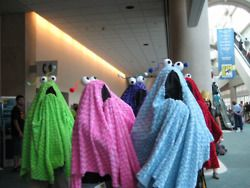 ohh! the yip-yips!! these guys are my favorite childhood memory of sesame street! these would be so easy to make for halloween11