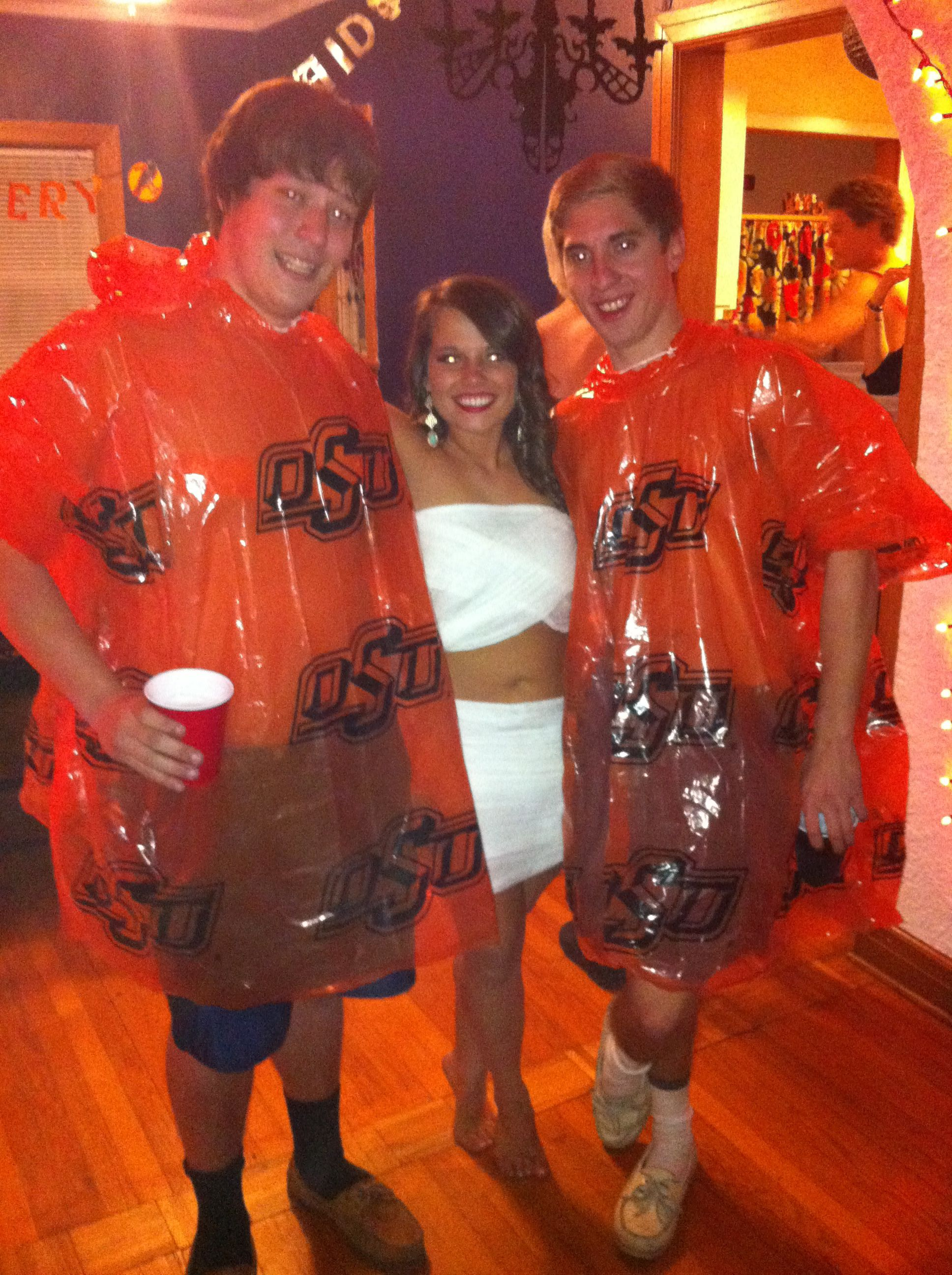 Abc Party Costume Ideas For Guys Ponchos Quick And Easy Abc Party Costumes Abc Party Abc Costumes