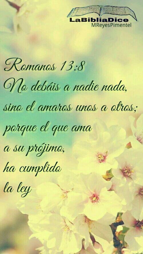 Romanos 13 8 Frases De Condolencias Cristianas Tarjetas Con Mensajes Cristianos Biblia Proverbios