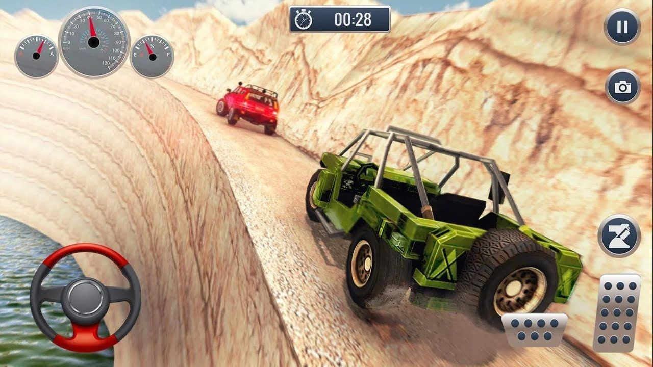 Extreme 4x4 Suv Driving Jeep Simulator Offroad Driving Game