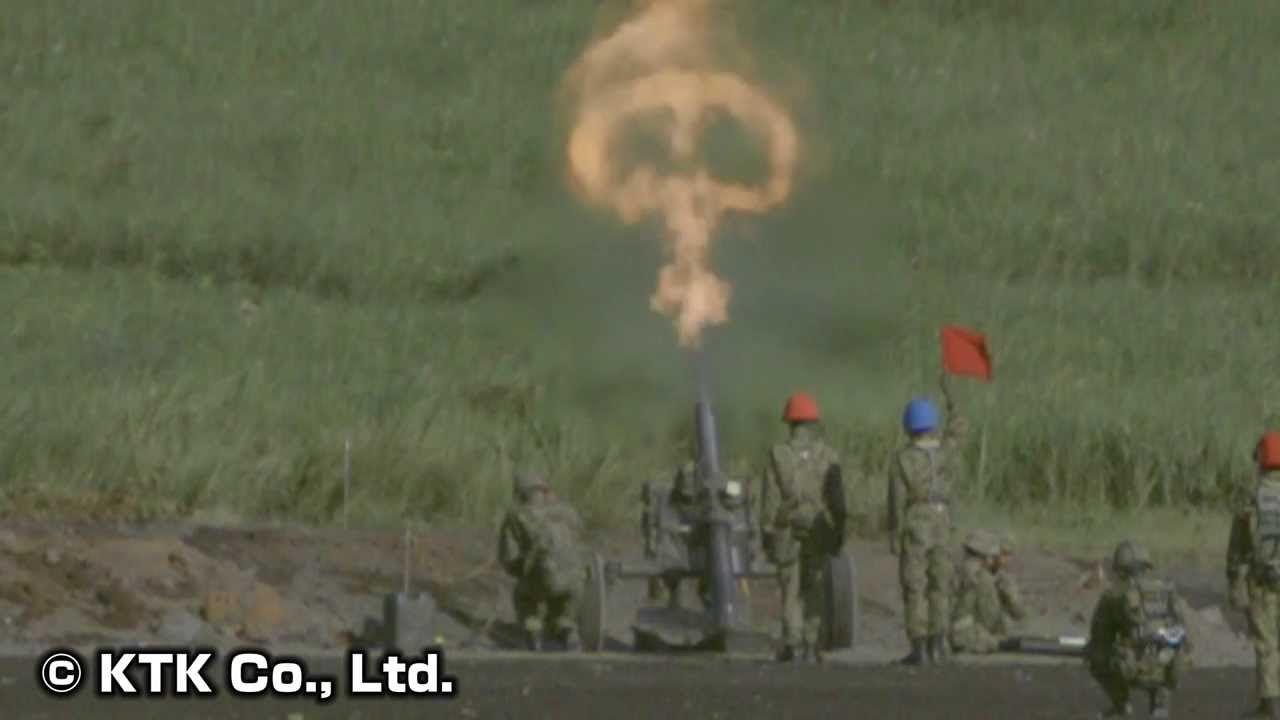 自衛隊】榴弾砲・迫撃砲の射撃と弾着をスーパースロー撮影!(NEX-FS700J) | 撮影, 射撃, スーパー