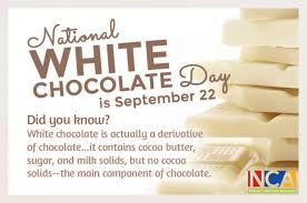 Image Result For National White Chocolate Day Chocolate Day Chocolate Logo Chocolate