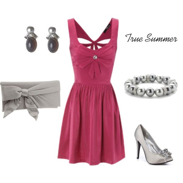 Red for True Summer, created by enlightenedshopper on Polyvore