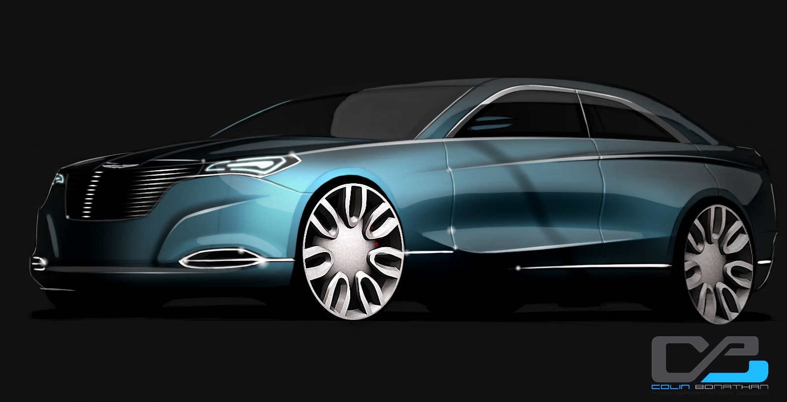 Next Generation 2014 Chrysler 200 Sedan Conceptualized Chrysler