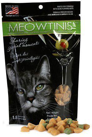 Omega Paw Meowtini's Cat Treats 3 oz.