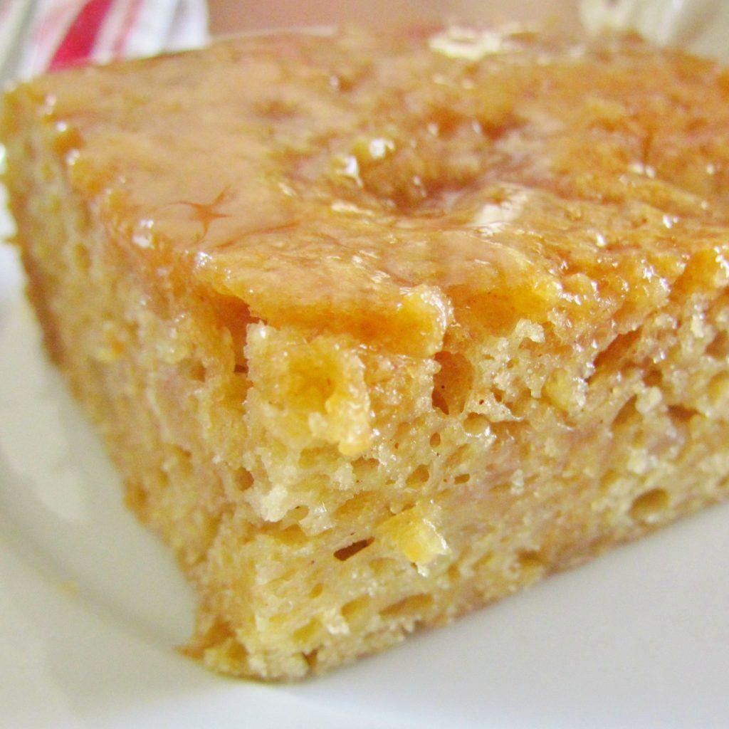 Easy caramel apple cake recipe corn cakes sweet corn