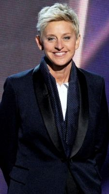 Take the time to appreciate women's contributions to society. Ellen Degeneres