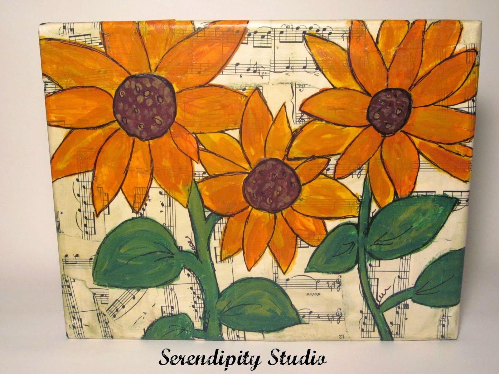 Sunflowers Inspired