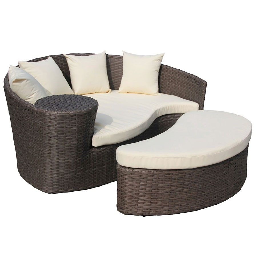 Charles Bentley Rattan Day Bed Daybed