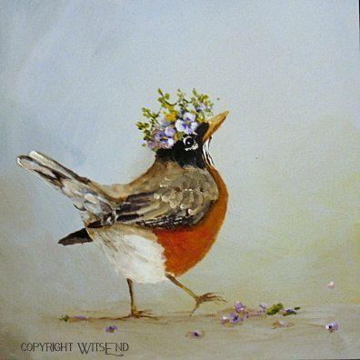 Bildergebnis für spring birds painting