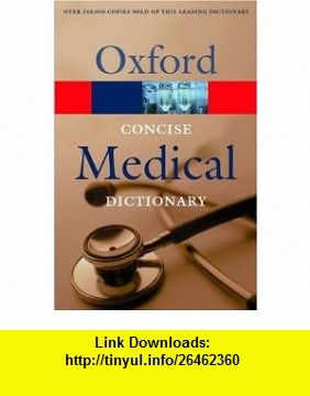 Oxford Concise Medical Dictionary Pdf