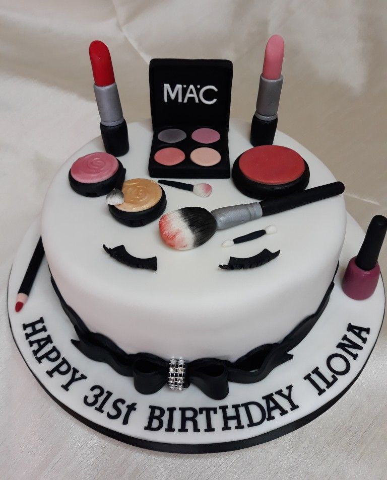 Make up cake for Megs | Make up cake, Cake, Box cake