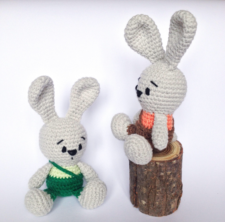 Amigurumi Crochet Bunny Patterns   Kaninchen häkeln, Häkeln ...   2415x2448